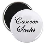 Cancer Sucks (Script) Magnet
