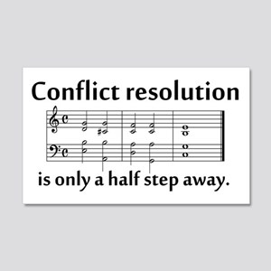 """""""Conflict Resolution"""" 20x12 Wall Peel"""
