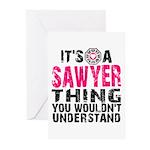 Sawyer Thing Greeting Cards (Pk of 20)