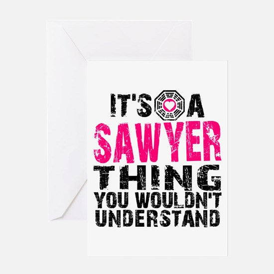 Sawyer Thing Greeting Card