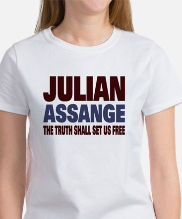 Julian Assange Women's T-Shirt