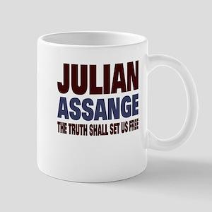 Julian Assange Mug