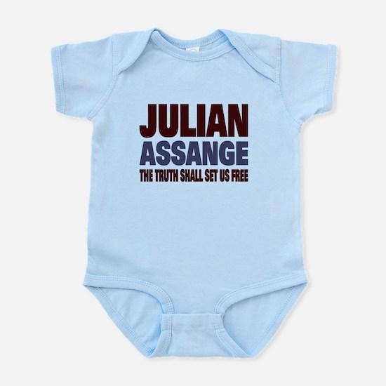 Julian Assange Infant Bodysuit