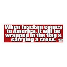 Sinclair Lewis on Fascism 36x11 Wall Peel