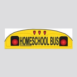 Homeschool Bus 2 36x11 Wall Peel