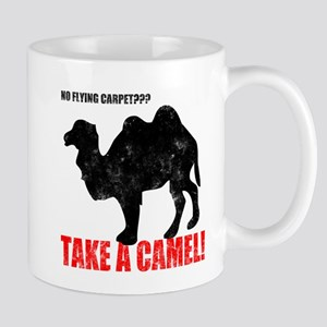 No Flying Carpet? Mug