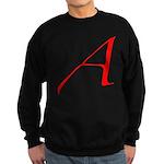Atheist 'A' Sweatshirt (dark)