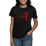 Atheist 'A' Women's Dark T-Shirt