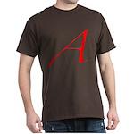 Atheist 'A' Dark T-Shirt