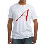 Atheist 'A' Fitted T-Shirt