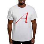 Atheist 'A' Light T-Shirt