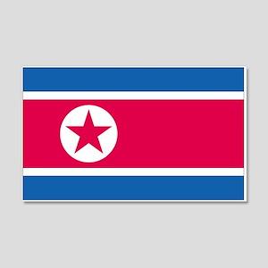 North Korea 20x12 Wall Peel