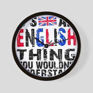 English Thing Wall Clock