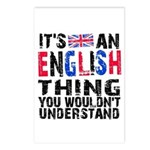 English Thing Postcards (Package of 8)