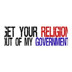 Keep your Religion 36x11 Wall Peel