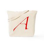 Atheist 'A' Tote Bag