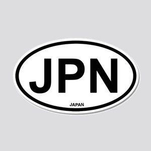Japan 20x12 Oval Wall Peel