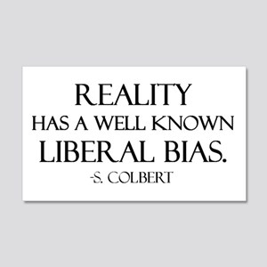 Reality, a Liberal Bias 20x12 Wall Peel