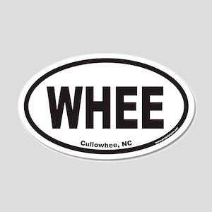 Cullowhee WHEE Euro 20x12 Oval Wall Peel