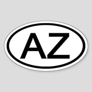 Arizona - AZ - US Oval Oval Sticker