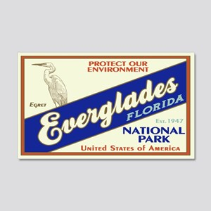 Everglades (Egret) 20x12 Wall Peel