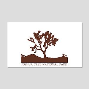 Joshua Tree Silhouette 20x12 Wall Peel