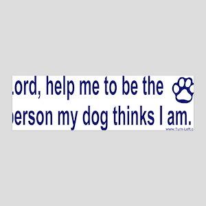36x11 Wall Peel - Dog Prayer