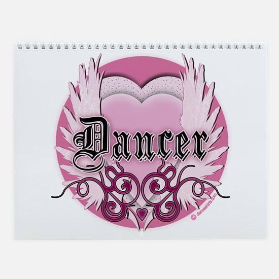 Dancer with Heart by DanceShirts.com Wall Calendar