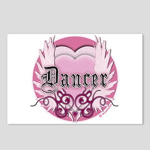 Dancer with Heart by DanceShirts.com Postcards (Pa