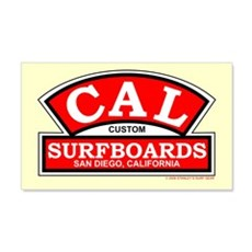 Cal Custom Surfboards 20x12 Wall Peel