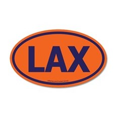 LAX 20x12 Oval Wall Peel