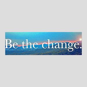 Be the Change 36x11 Wall Peel