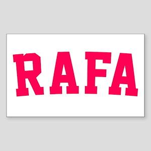 Rafa Sticker (Rectangle)