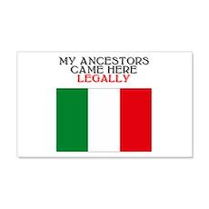 Italian Heritage 20x12 Wall Peel