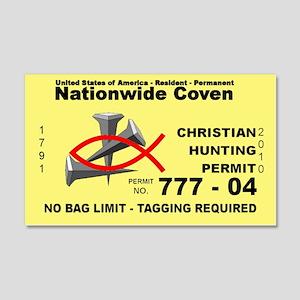 Christian Hunting Permit