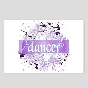 Crystal Violet Dancer Wreath Postcards (Package of