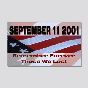 9/11 20x12 Wall Peel