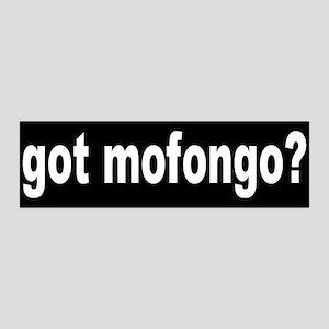MOFONGO... 36x11 Wall Peel