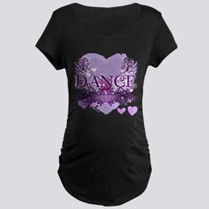 Dance Forever by DanceShirts.com Maternity Dark T-