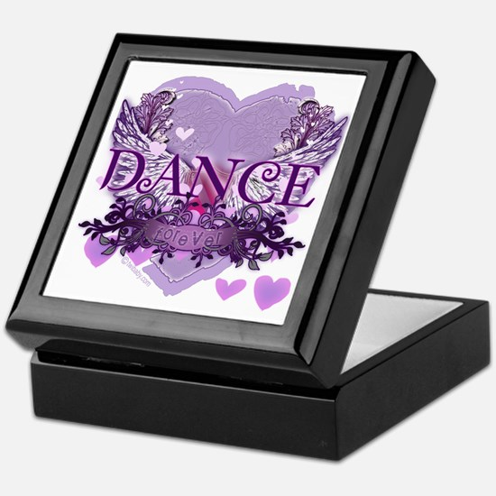 Dance Forever by DanceShirts.com Keepsake Box