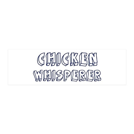 Chicken Whisperer 20x6 Wall Peel
