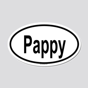 PAPPY 20x12 Oval Wall Peel