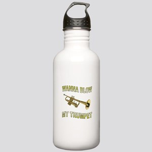 GET READY TO BLOW Stainless Water Bottle 1.0L