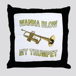GET READY TO BLOW Throw Pillow