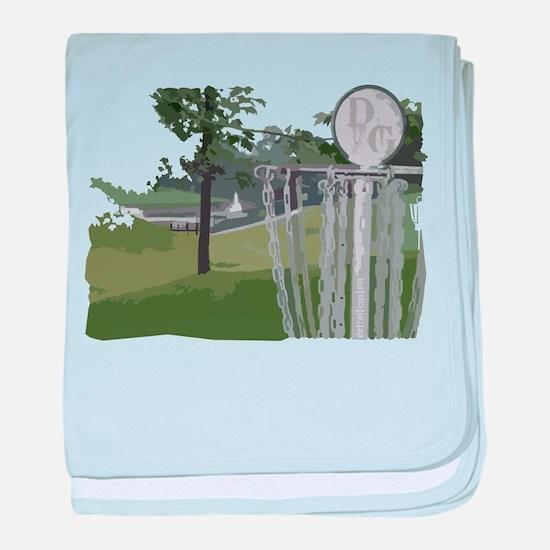 Lapeer Disc Golf baby blanket