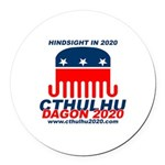 Hindsight Round Car Magnet