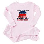 Doom Baby Pink Pajamas