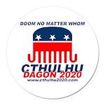 Doom Round Car Magnet