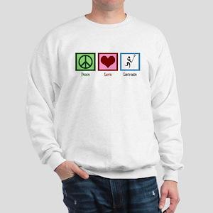 Peace Love Lacrosse Sweatshirt