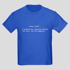 Error ID10T Kids Dark T-Shirt